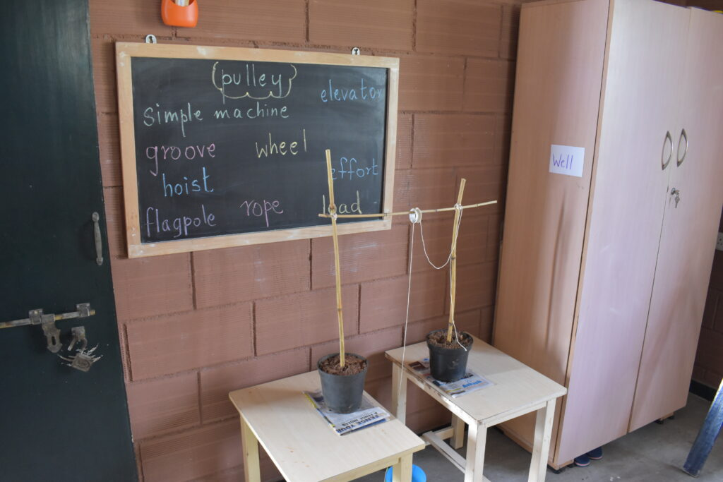 Science Day: Pulley Model