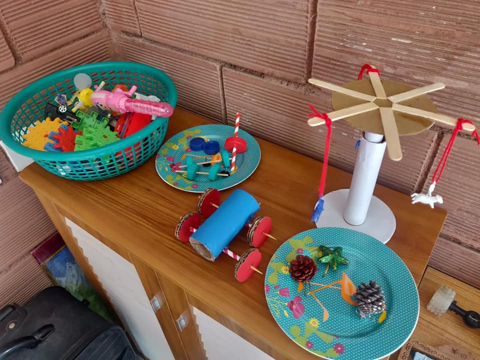 Science Day: Wheel and axle Models